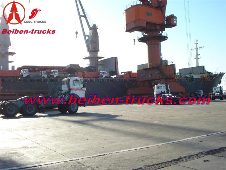 beiben 2634 prime mover for algeria