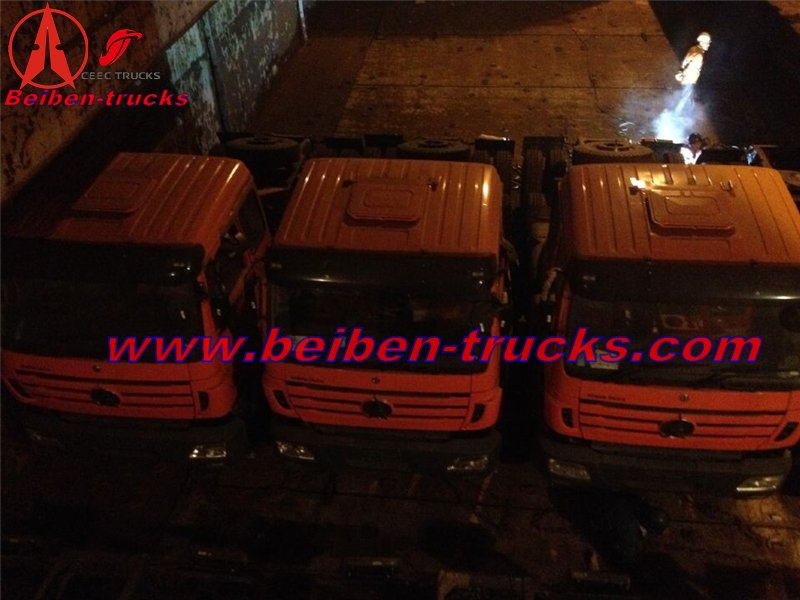 beiben 2638 right hand drive tractor trucks in tanzania country