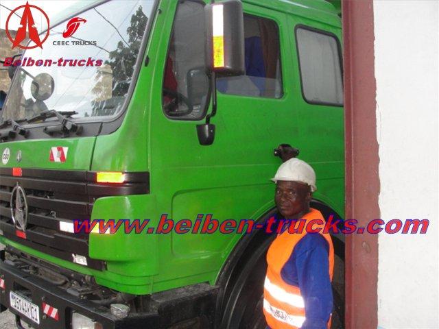 Beiben 2529 dumper in congo customer working site