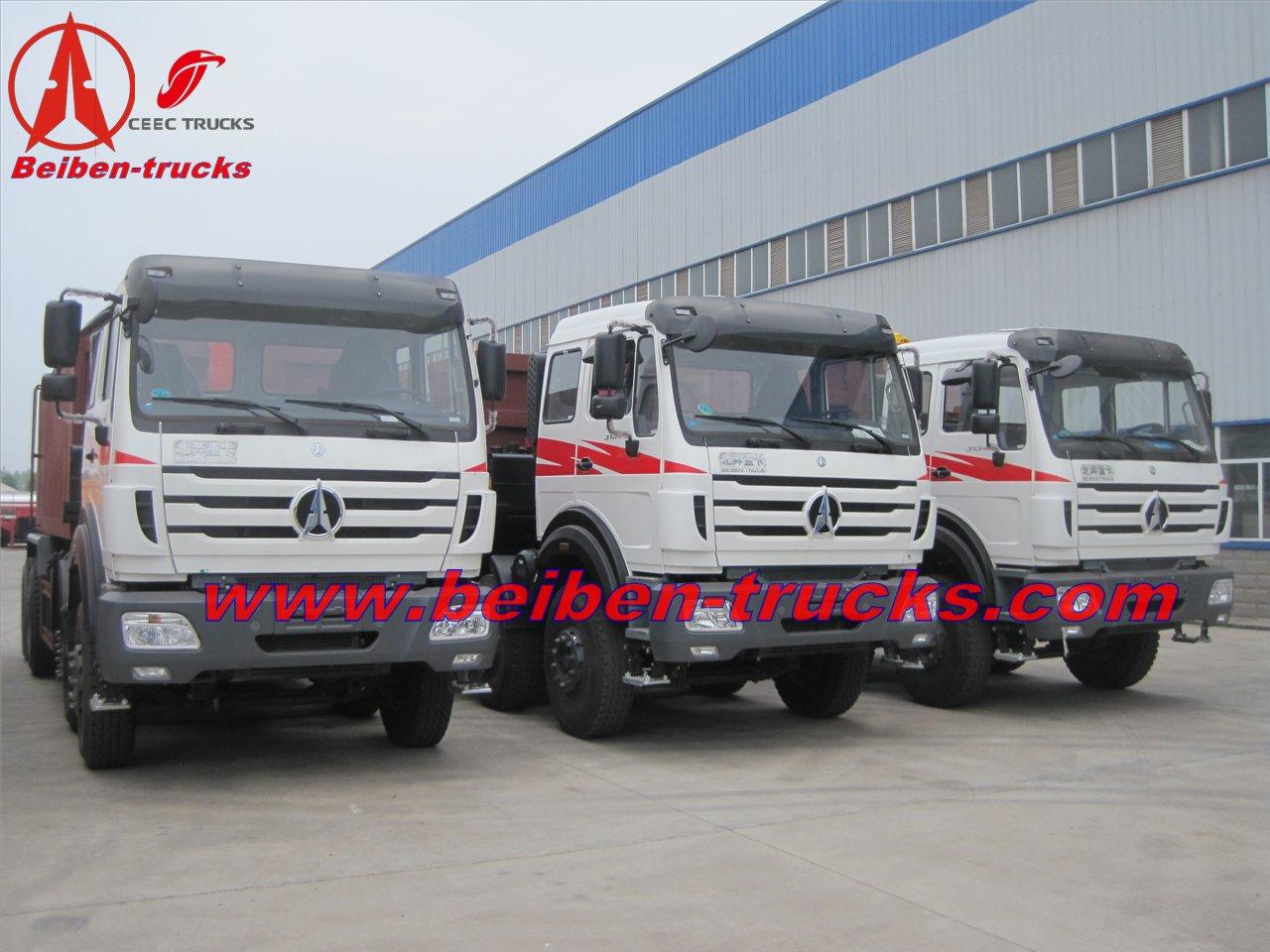 mogolia beiben 12 wheeler dump trucks