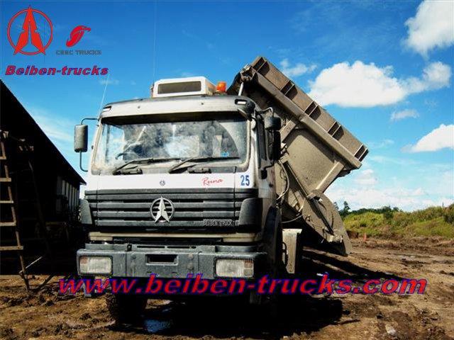 beiben 420 tractor truck in bolivia