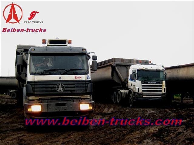 CONGO beiben 2638 tracteur camions customer