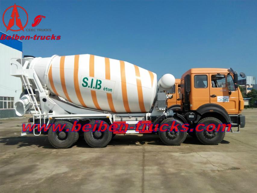 beiben mixer trucks in algeria