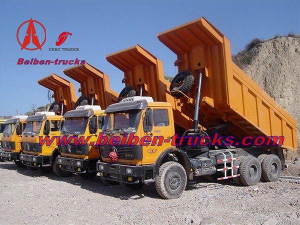 beiben 2534K dump trucks
