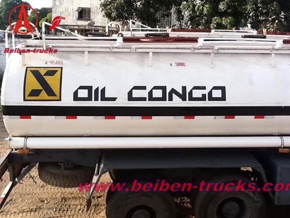 congo beiben oil tanker truck