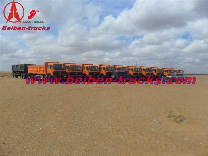 mogolia beiben 50 T dump truck