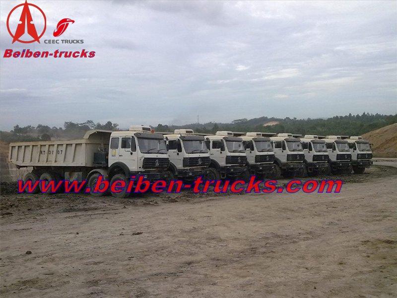 Kenya beiben 50 T dump truck