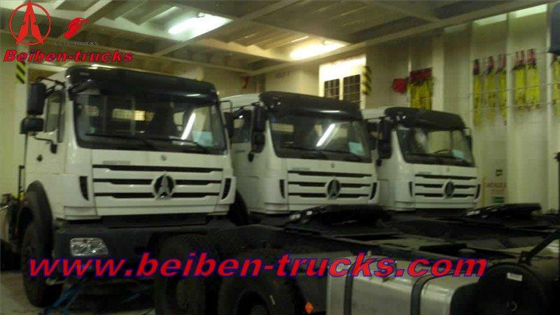 algeria beiben 2642 tractor trucks