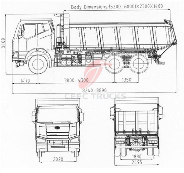 buy best benz technology 15ton dump truck beiben 6x4