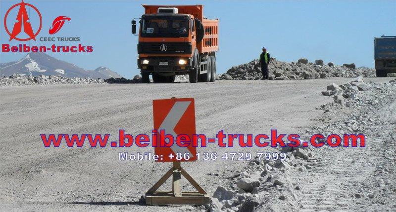 beiben 2538K dump truck price