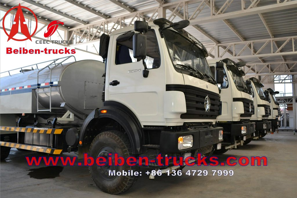 beiben 2534 water tanker trucks.