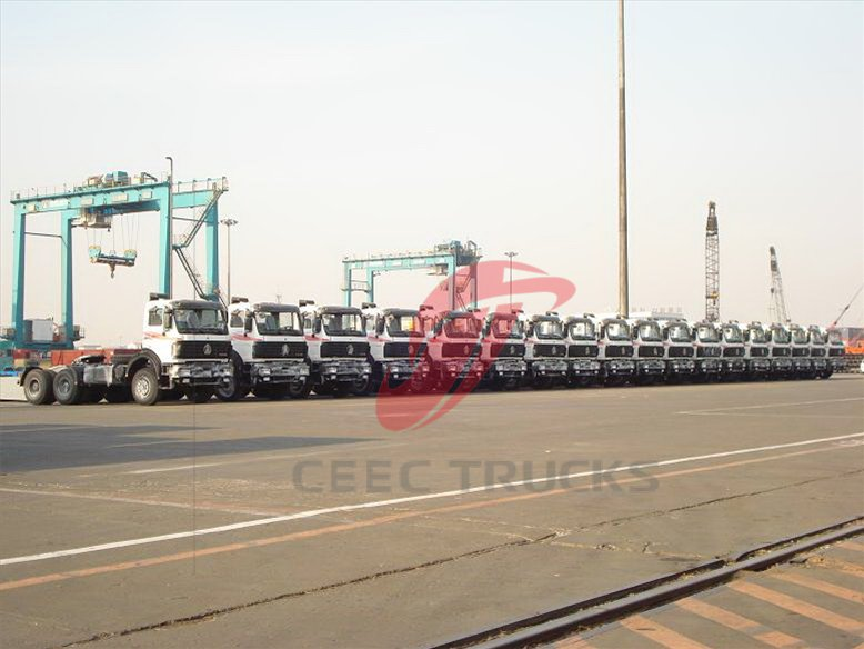 beiben truck for shipping