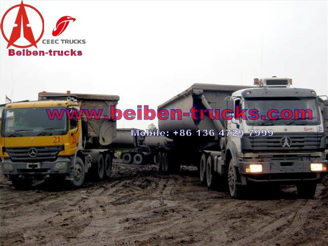 beiben 420 Hp tractor truck manufacturer