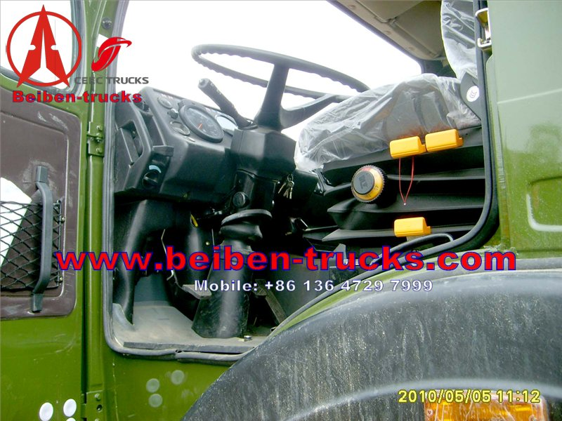 Beiben ND1290 military truck for exporting