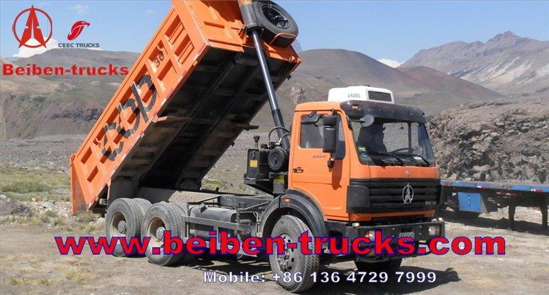 Best quality beiben dump truck