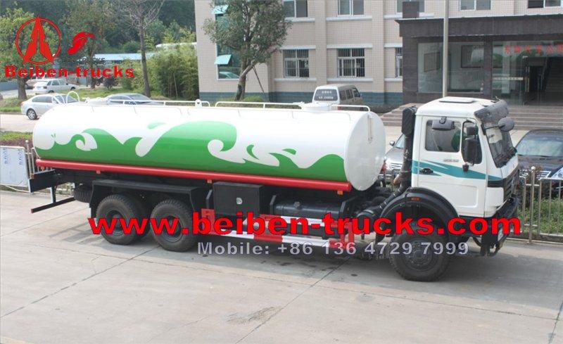 80 units beiben water tanker trucks