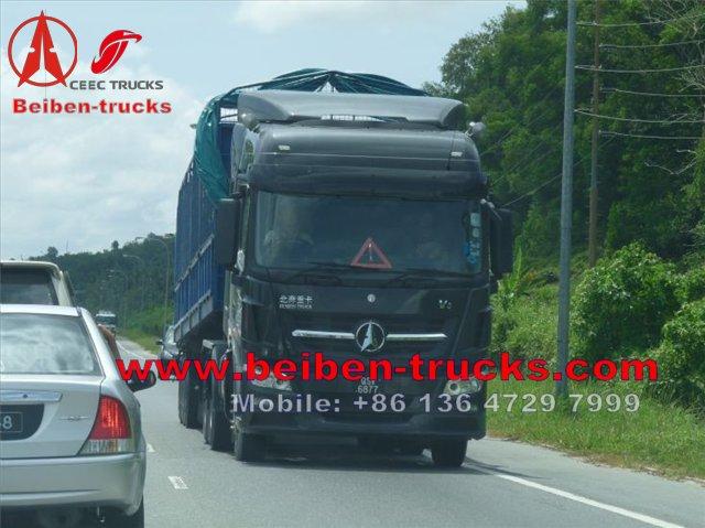 beiben V3 tractor truck in brunei