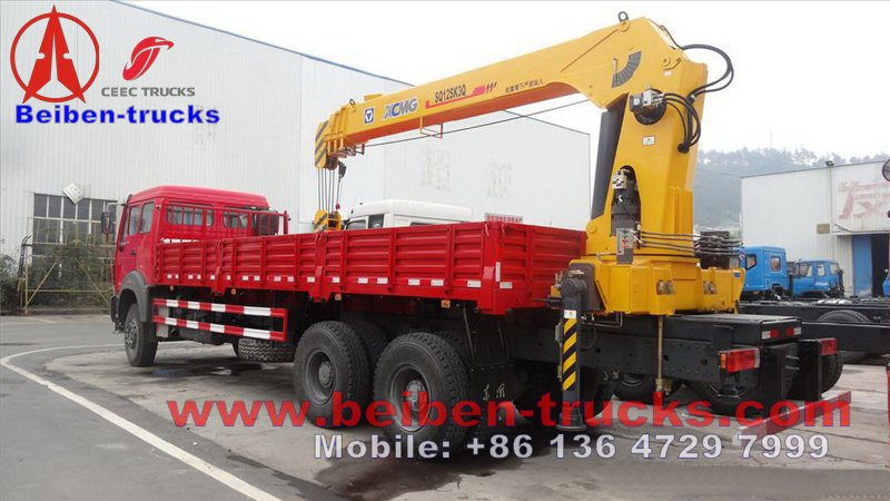 beiben 12 T xcmg crane truck