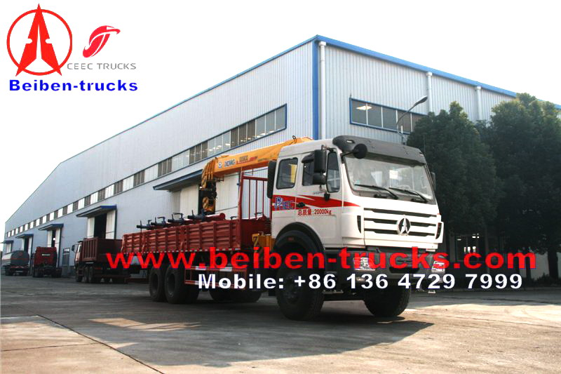 china north benz 16 T truck manufacturer