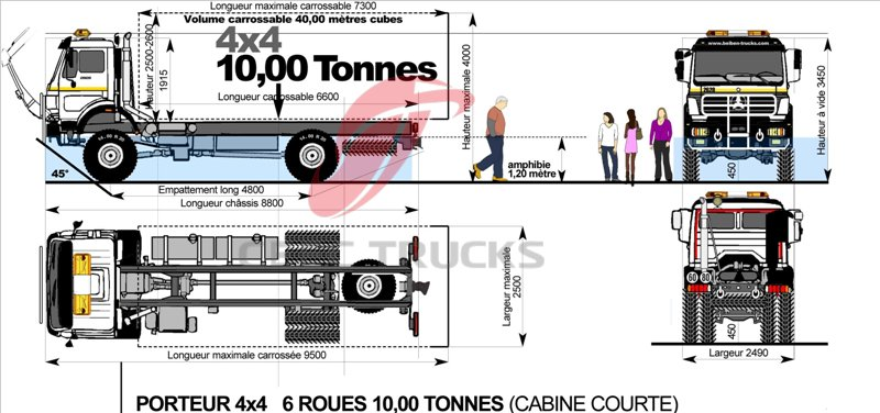 beiben 10 T refrigeration truck