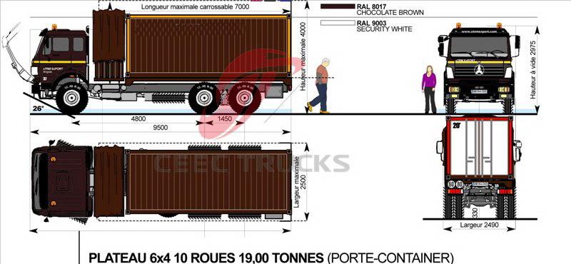 beiben 15 T refrigeration truck