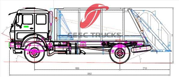 compactor truck,