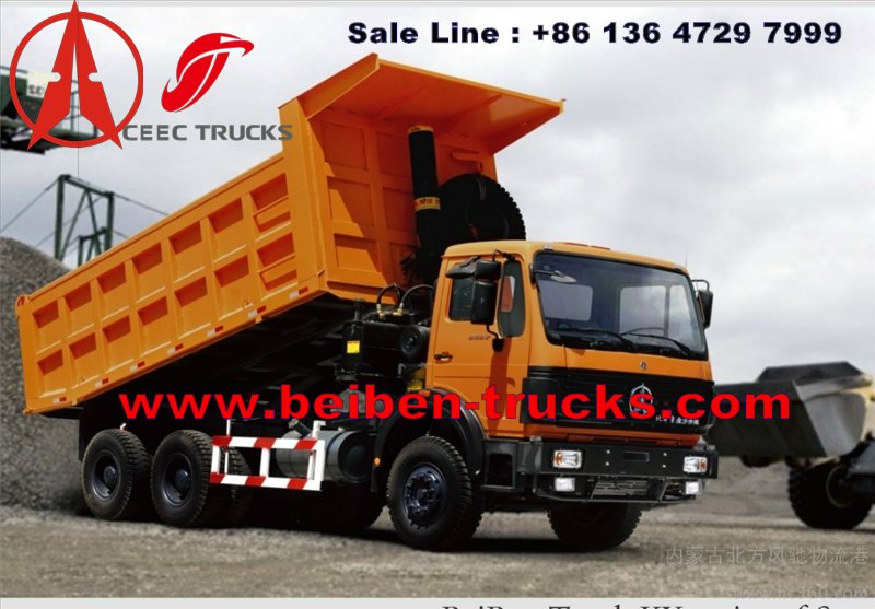 china beiben dumper truck manufacturer