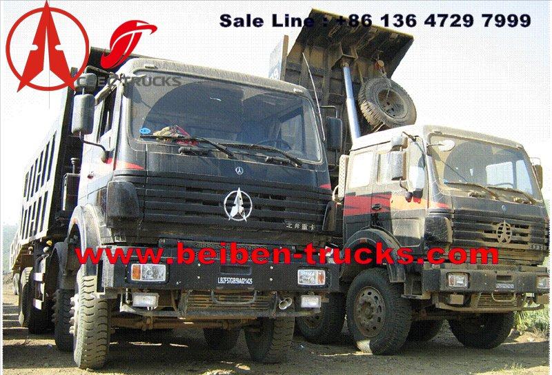 Brazzaville beiben dump truck supplier