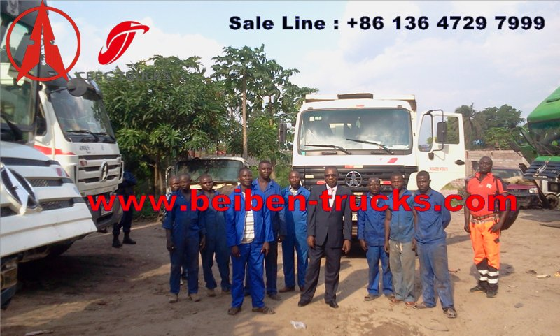 CONGO beiben dump trucks supplier