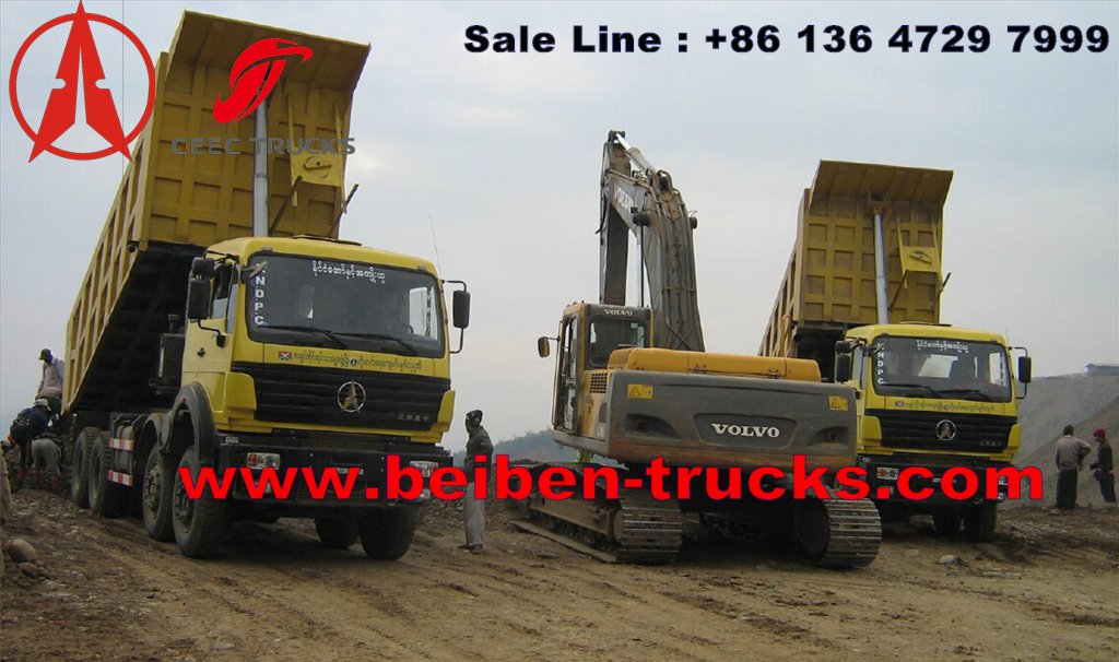 benz 12 wheeler dump truck for sale