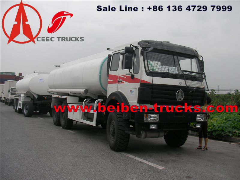 congo beiben trucks supplier of fuel tanker truck