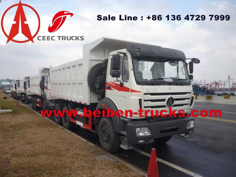 mozambique beiben dump trucks