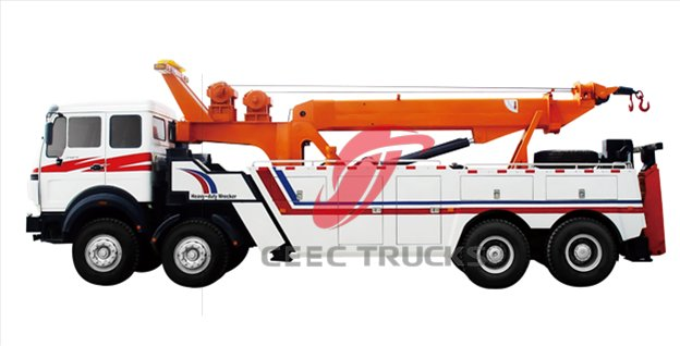 beiben 2534 wrecker truck supplier