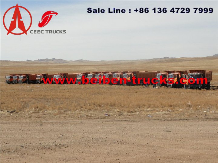 beiben 2538 dump truck for sale