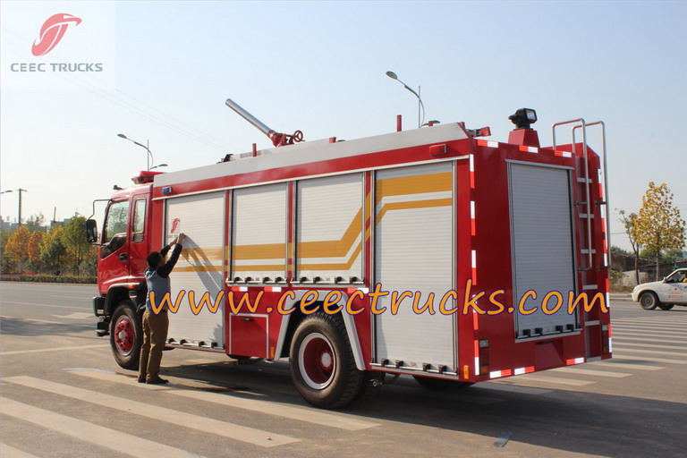beiben fire trucks manufacturer