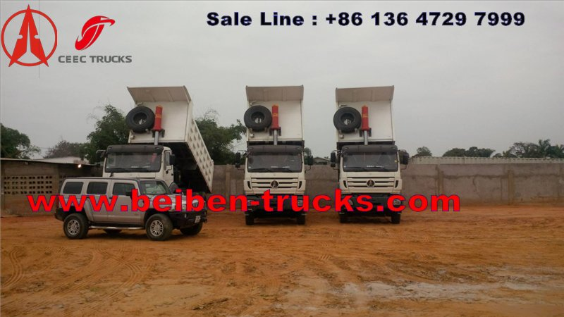 congo beiben dump trucks china supplier