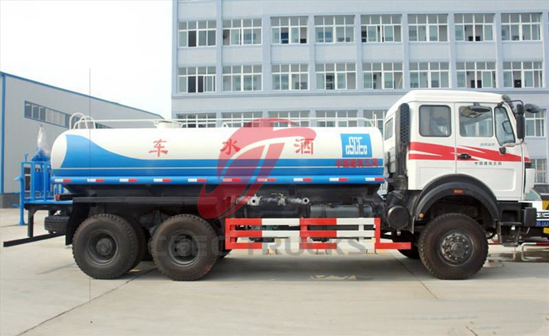 north benz 20 CBM water tanker truck