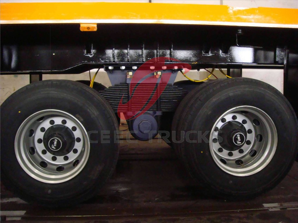 china bogie suspension container semitrailer