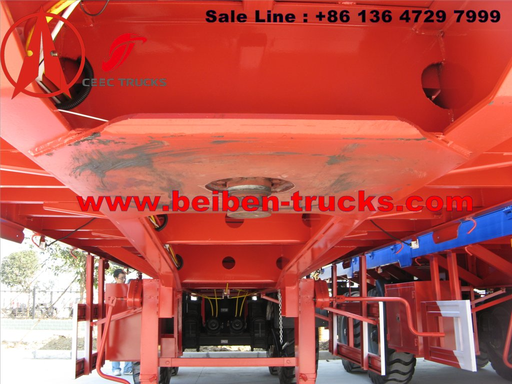 china 2 axle bogie suspension semitrailer manufacturer