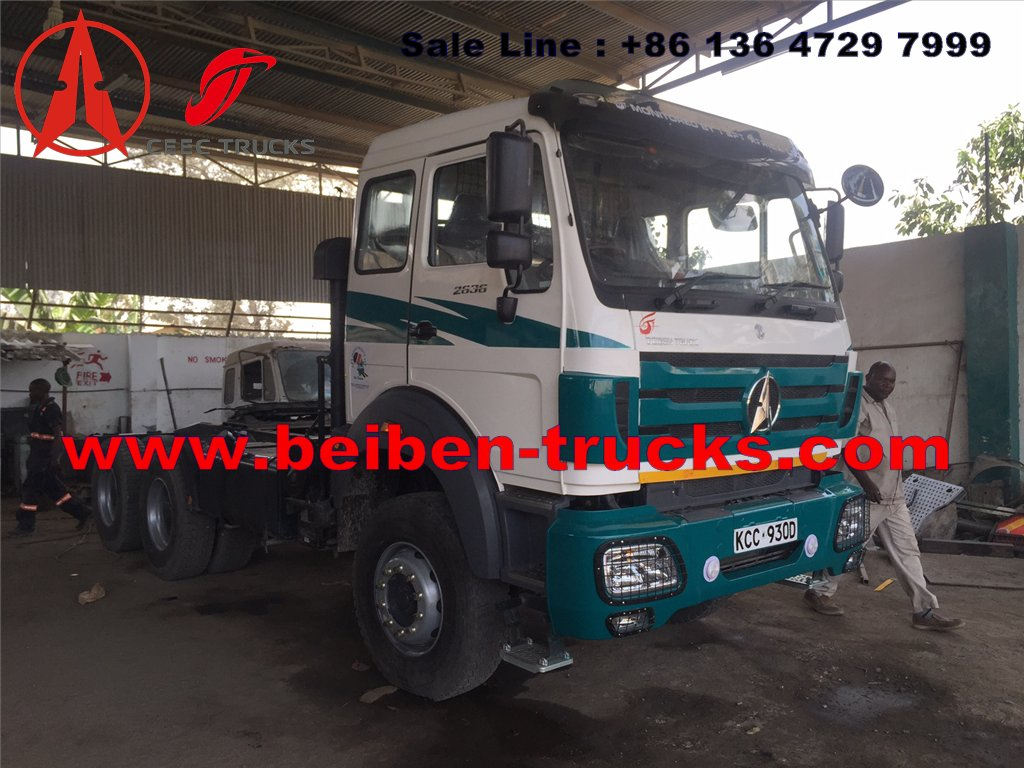 beiben right hand drive 2538 tractor truck supplier