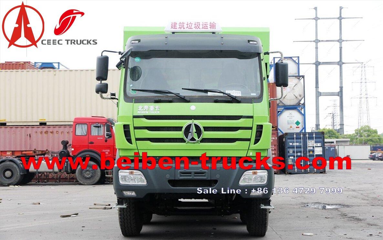 beiben 12 wheeler dump truck manufacturer