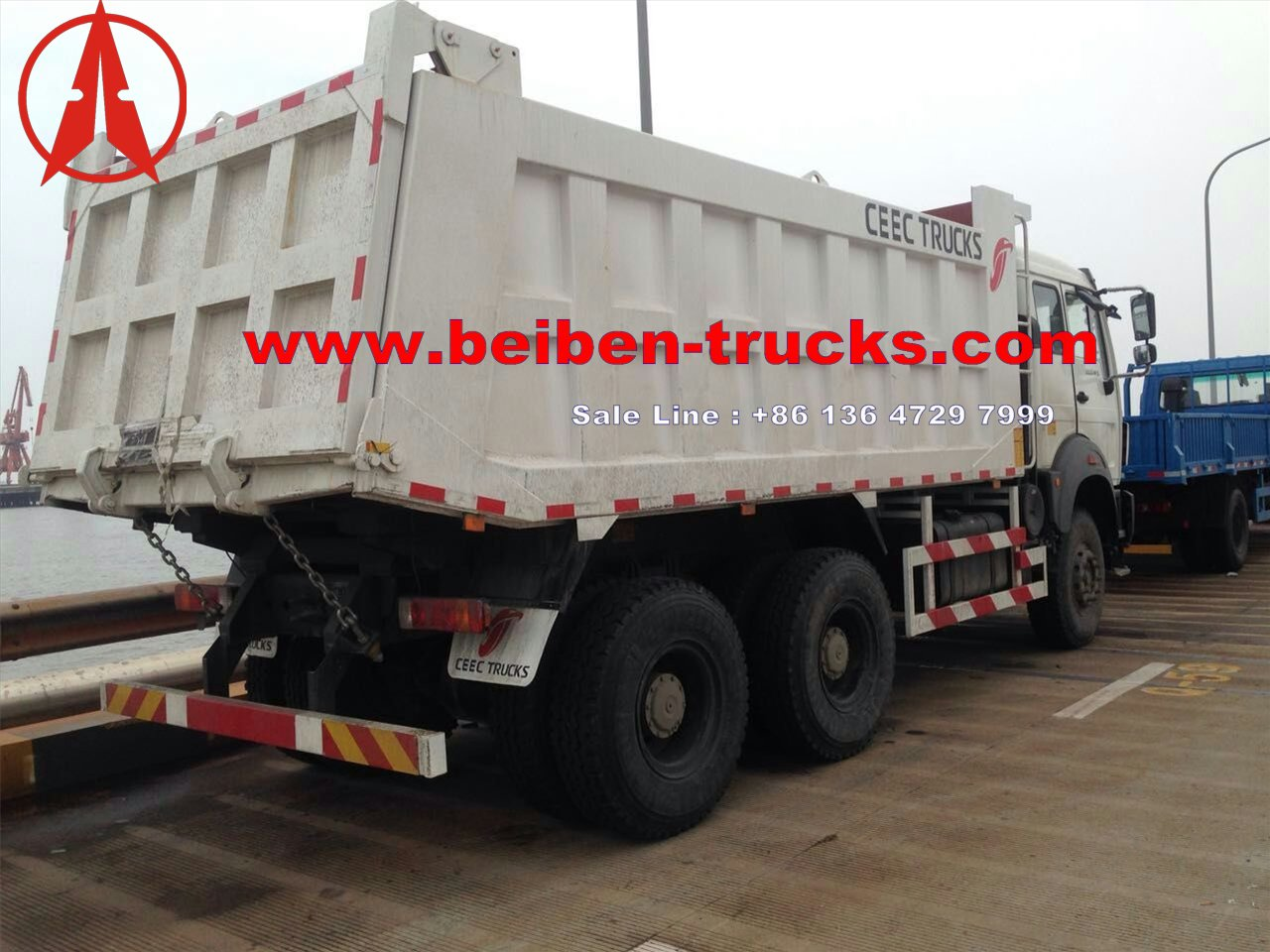 beiben 2534K dump truck for shipping