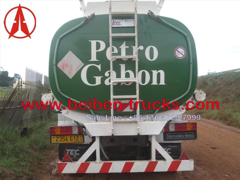 china beiben fuel tanker in gabon