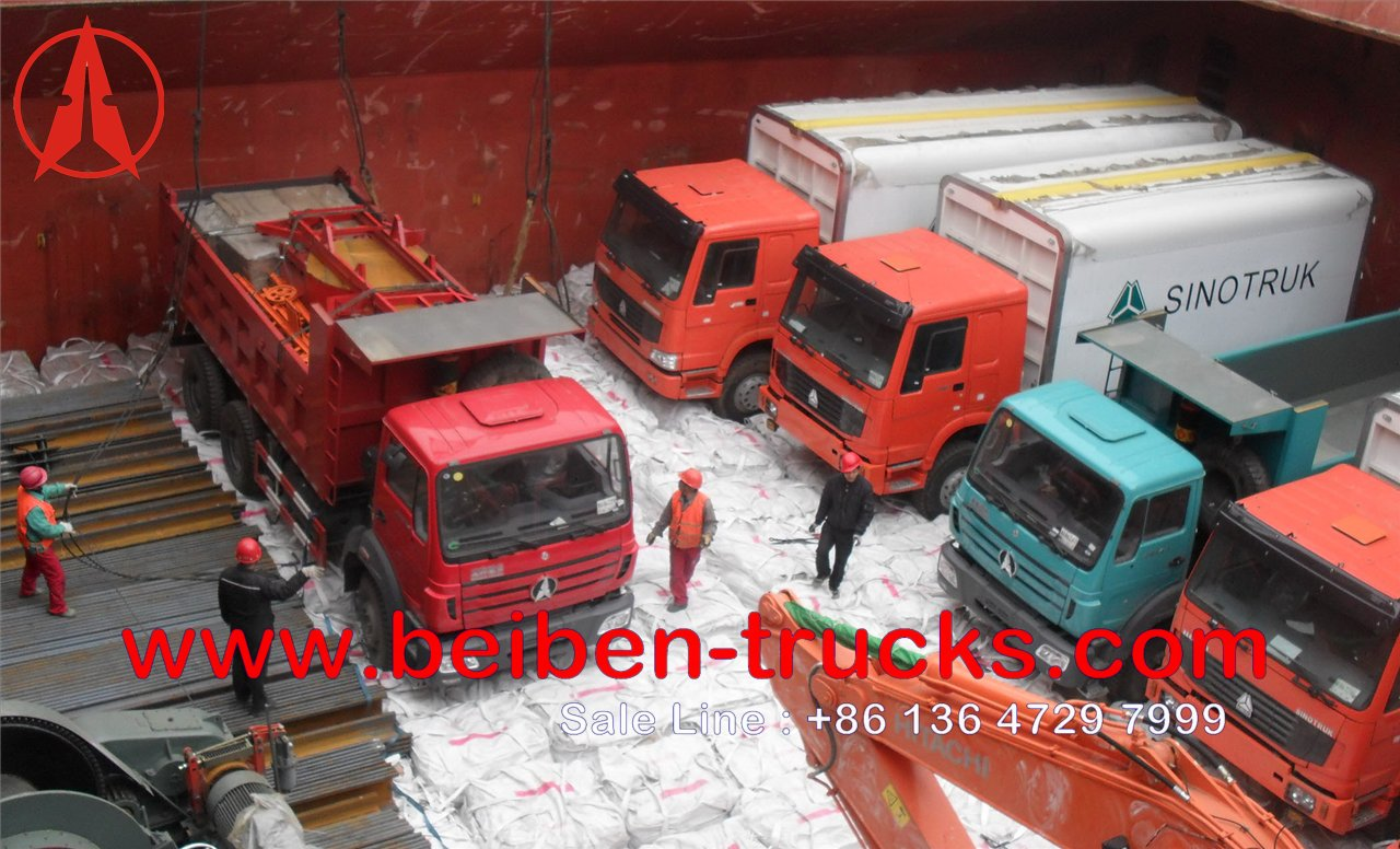 Nigeria beiben trucks supplier
