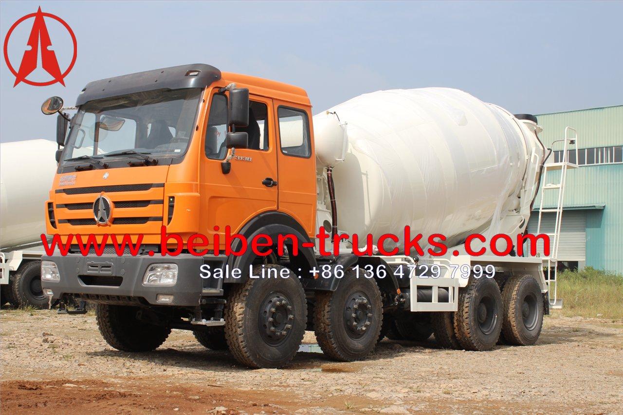 beiben 3138 concrete mixer truck manufacturer