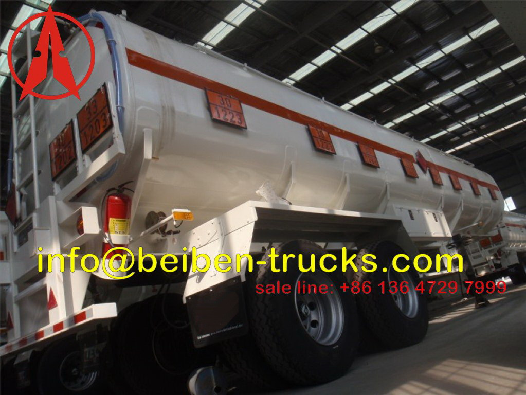 fuel tanker semitrailer for afria
