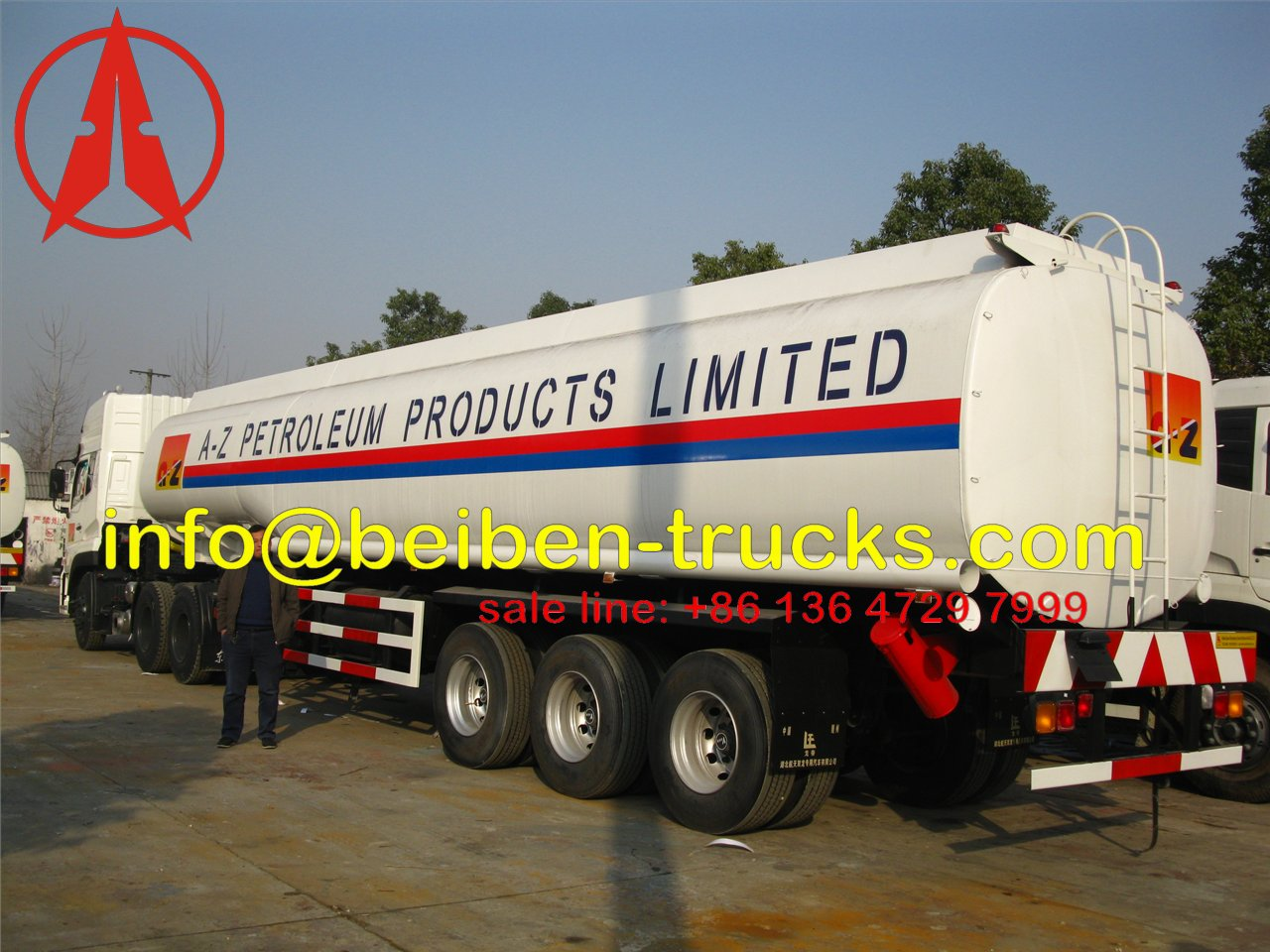 nigeria fuel tanker semitrailer supplier