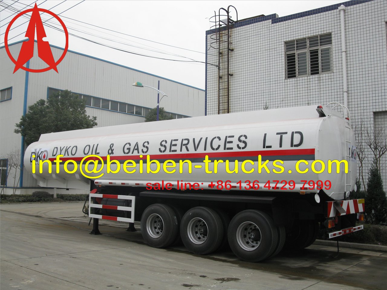 nigeria fuel tanker semitrailer supplie
