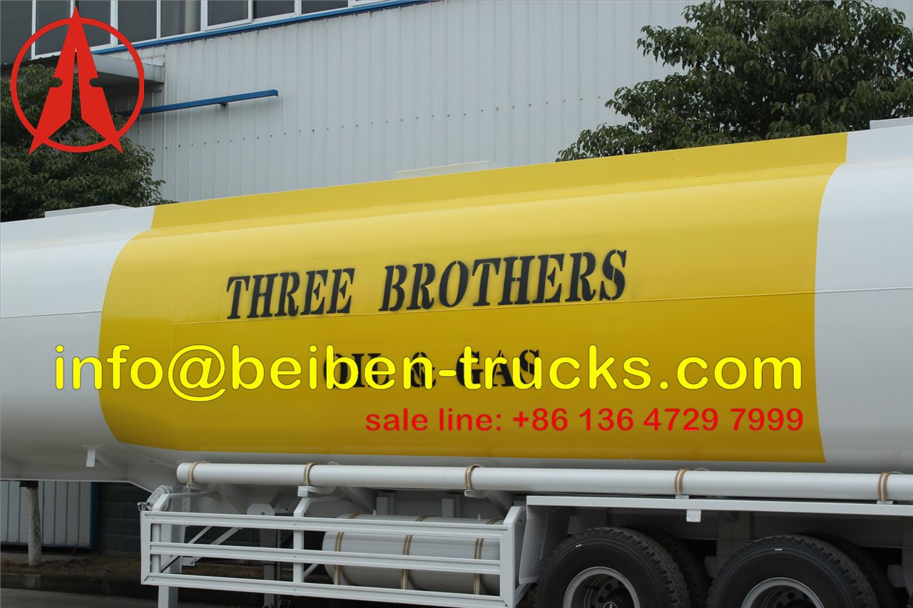 fuel tanker semitrailer for africa