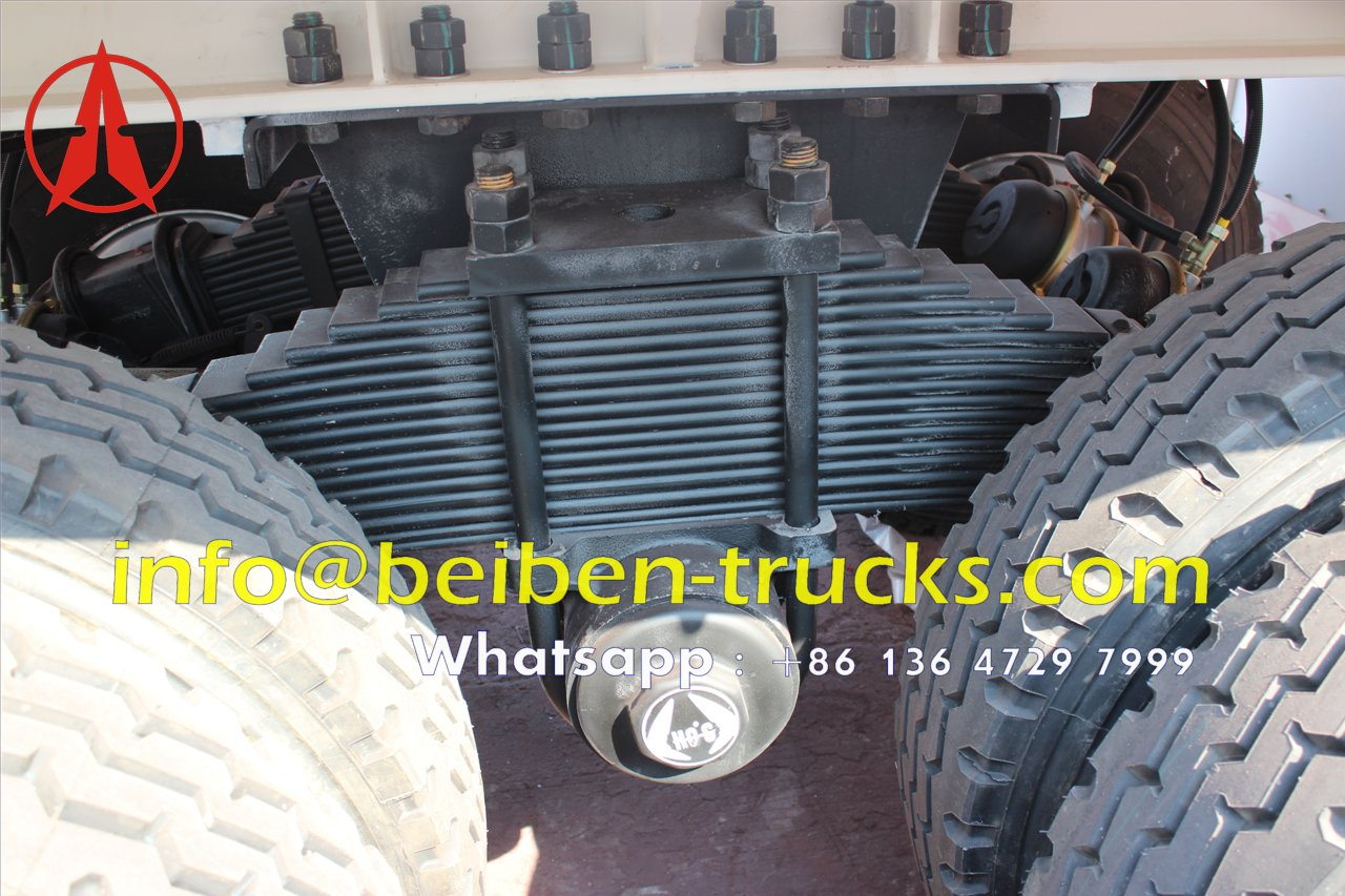 2 axle bogie suspension container semitrailer manufacturer